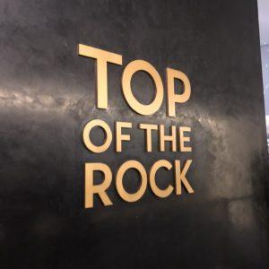 ロックフェラーセンター トップ・オブ・ザ・ロック